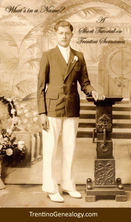 1937 - Romeo Fedele Serafini (aka Ralph R. Serafinn), age 17