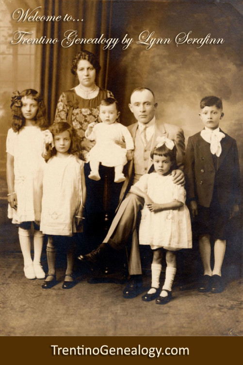 Serafini family in Brooklyn, 1928