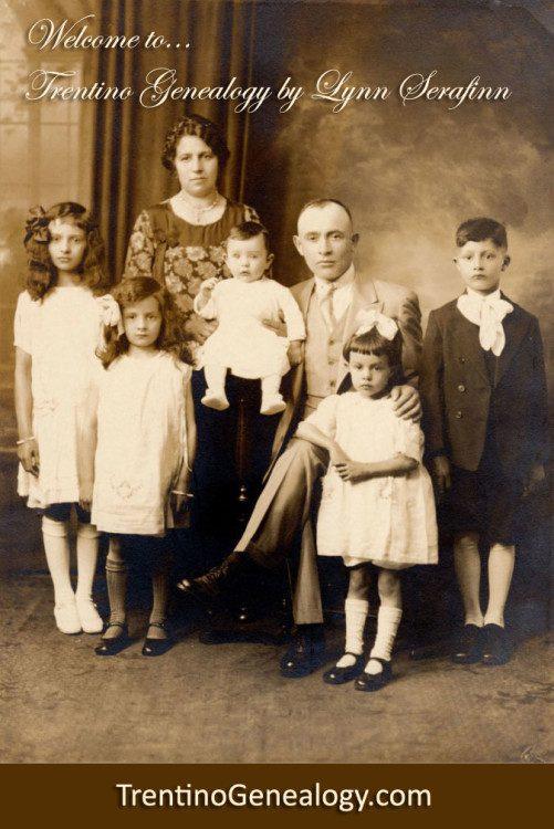 Serafini family in Brooklyn, 1928