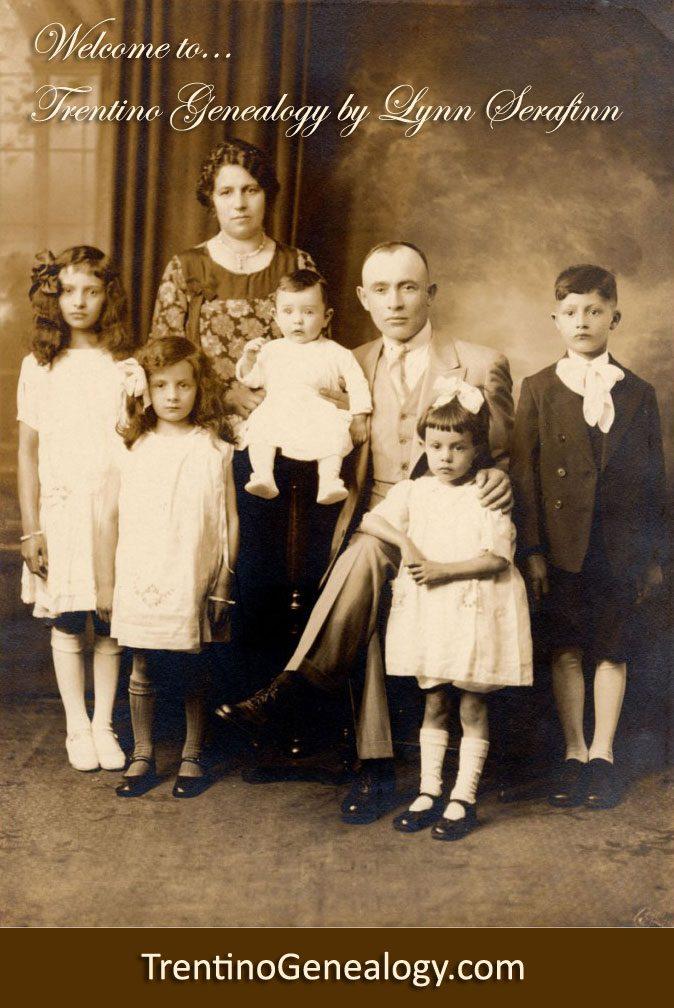 Trentino Genealogy | Family History for Trentini Decendants