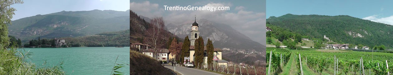 Trentino Genealogy | Family History for Trentini Decendants