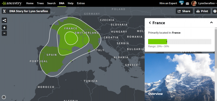 AncestryDNA 2018 - What is French?