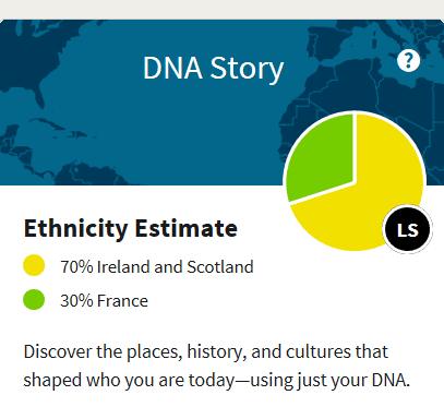 AncestryDNA Ethicity Estimate 2018