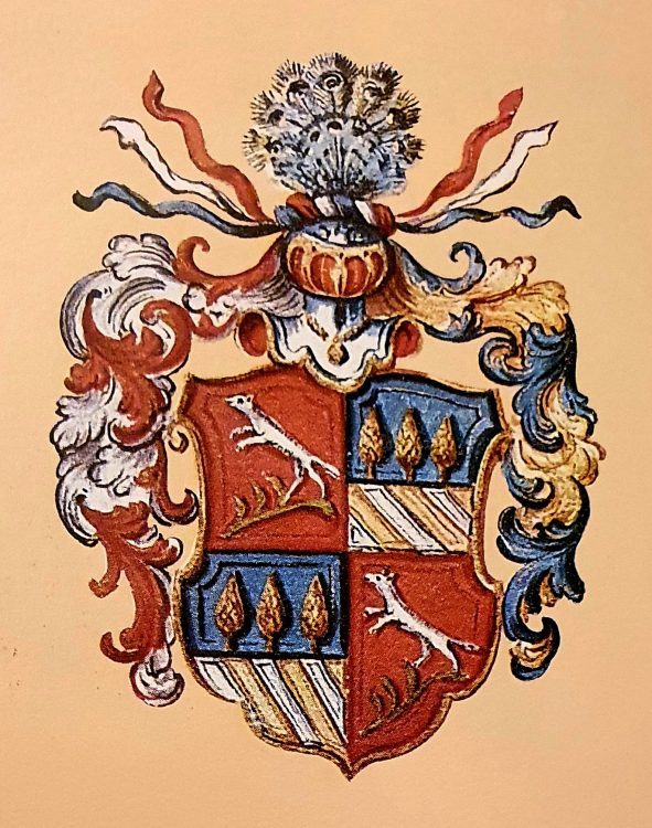 Stemma (coat of arms) of the Betta di Castel Malgolo